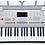 Thumbnail: 61 Piano Style Keyboard YM-823