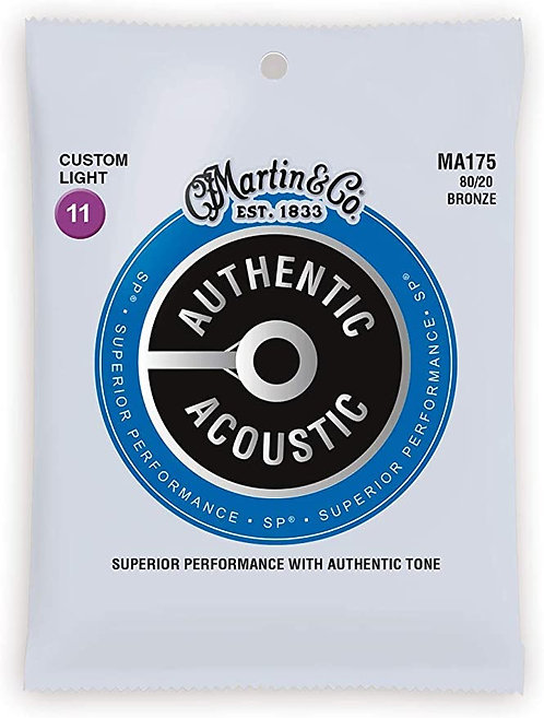 Martin Authentic Acoustic Guitar Strings - Superior Performance