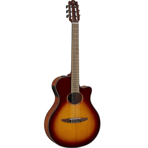 Yamaha NTX1 Nylon String Acoustic-Electric Guitar - Brown Sunburst