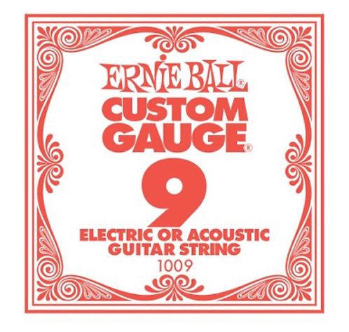 Ernie Ball Plain Steel - Single String