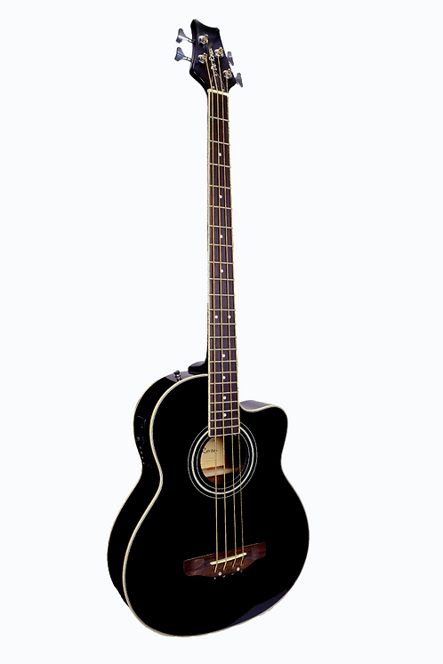 Glen Burton Deluxe Acoustic Electric Bass - 4 String