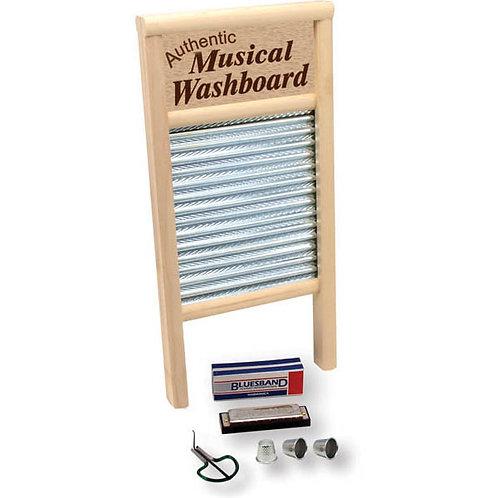 Country Jamboree Set (Washboard, Harmonica, Jaw Jarp & More)