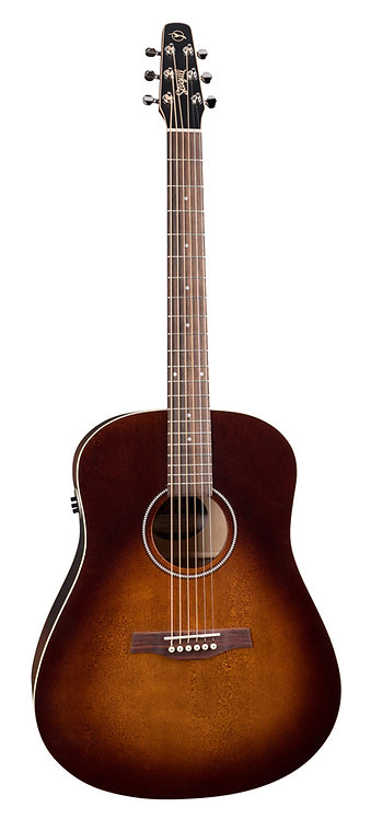 Seagull S6 Original Burnt Umber QIT Acoustic Electric MADE In CANADA