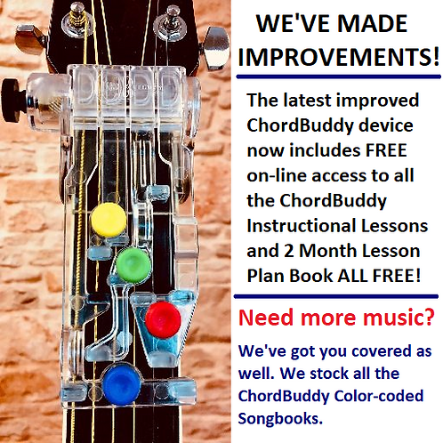 Newest version of ChordBuddy Device