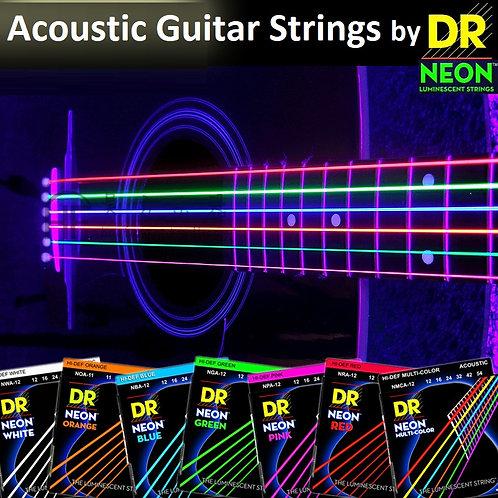 DR Neon Acoustic Premium Strings