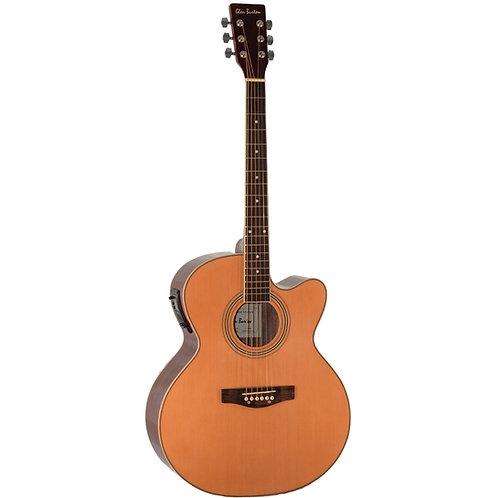 Glen Burton GAJ06CE-NT Jumbo Acoustic Electric Cutaway Guitar