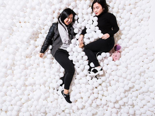 Crazy over BALL PIT photo opt!