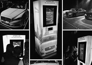 Volvo event using Hashtagger as Instagram Printer photo booth #photobooth #instagramprinter