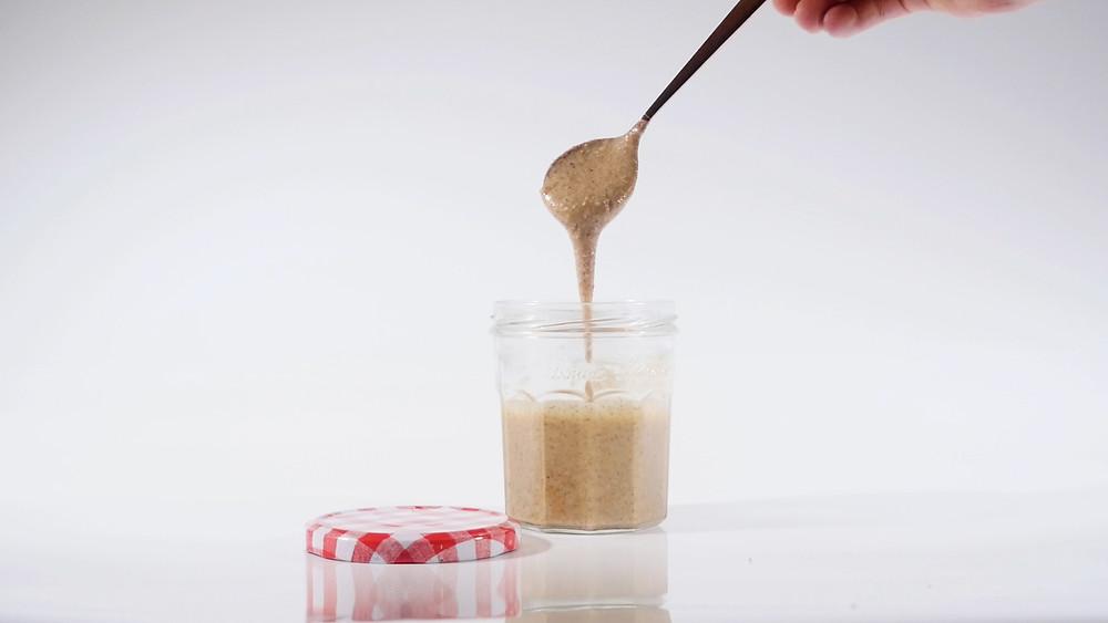 Home Made Vegan Almond Butter