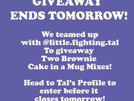 @little.fighting.tal Giveaway Ends Tomorrow!