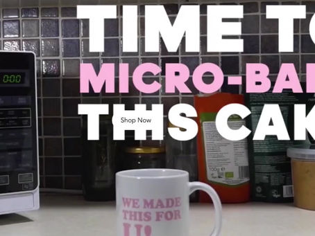 THIS WEEK   LDN Vegans due to test Simply Mix   Cake in a Mug