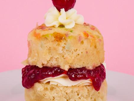 Recipe: Vegan Gluten Free Victoria Sponge #cakenude