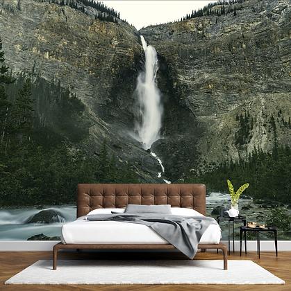 Ancient Takakkaw Falls