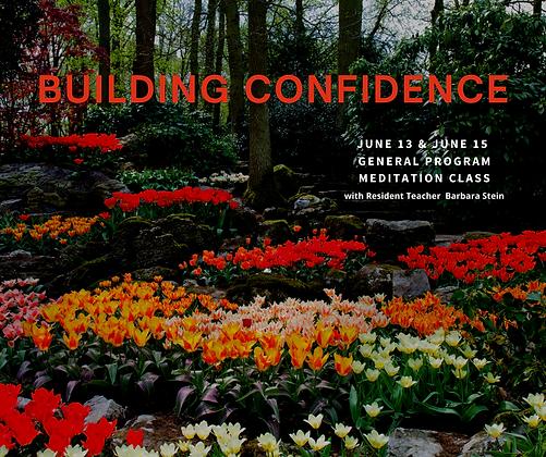 June 13/15 Building Confidence