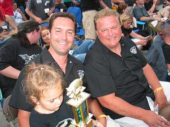 Alex, Ed and Mila Ranucci BBQ Awards