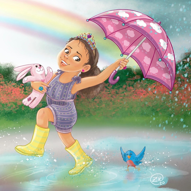 Puddle Jumping Cutie