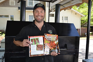Alex Ranucci BBQ in Barbecue America Magazine