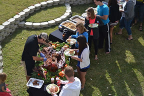 Ranucci's Catering BBQ Buffet Whole Hog