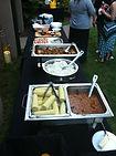 Ranucci's BBQ Catering Buffet