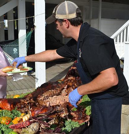Alex Ranucci Whole hog catering
