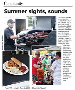 Charlotte Weekly - July 2007