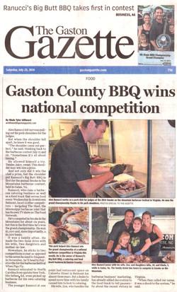 Gaston Gazette July 2016