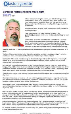 Scott Wilson Review - MAR 2011