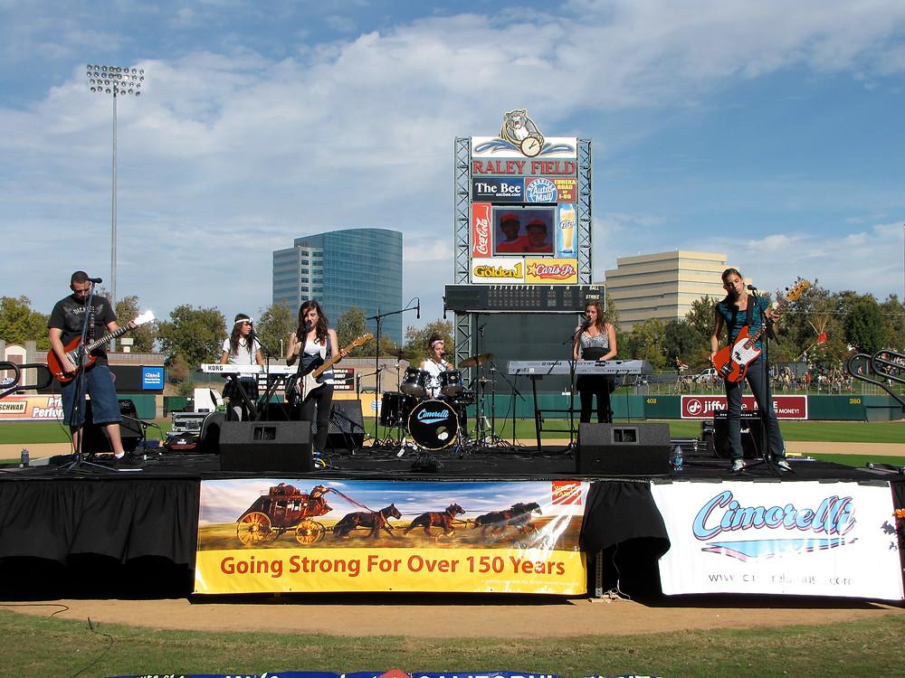 Cimorelli at Raley Field in Sacramento 2008