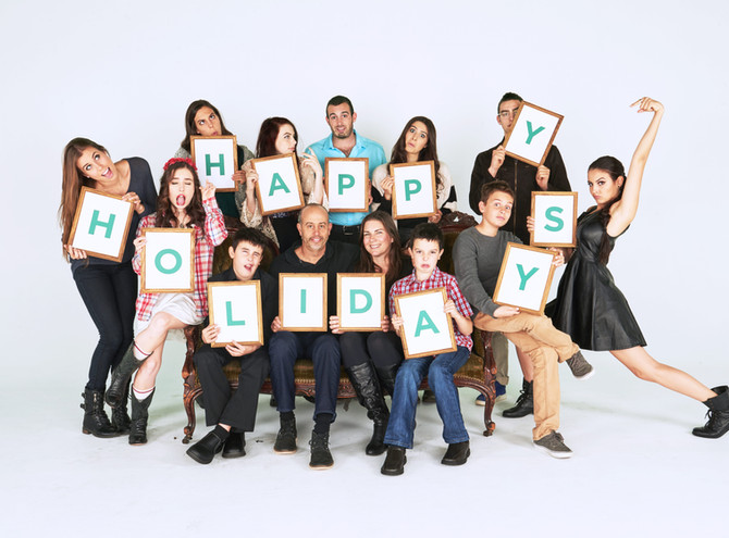 Celebrating Christmas in a Large Family Cimorelli-Style