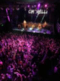 Cimorelli onstage in Argentina