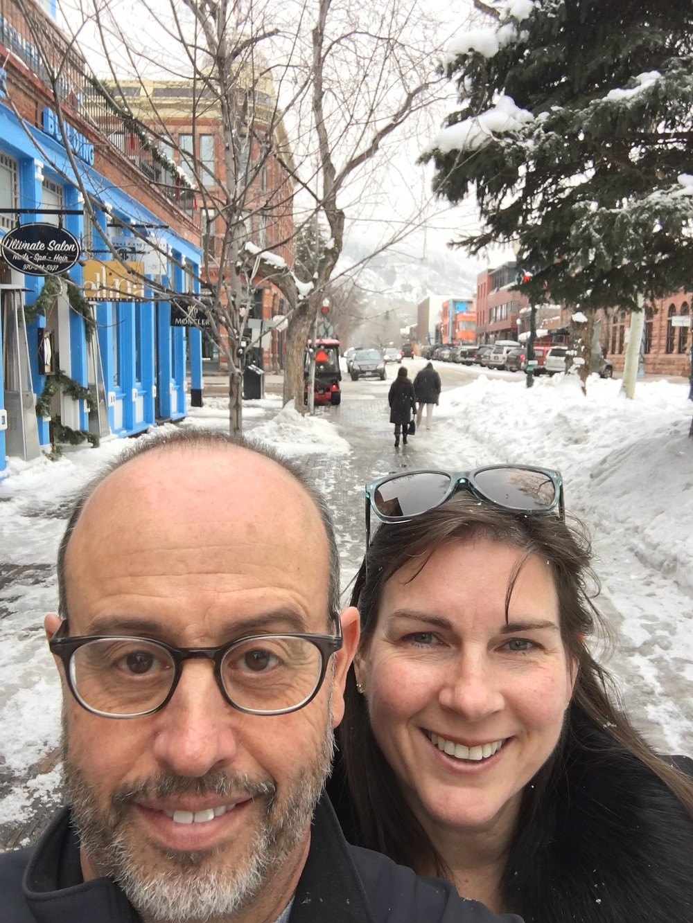Mike and I in Aspen