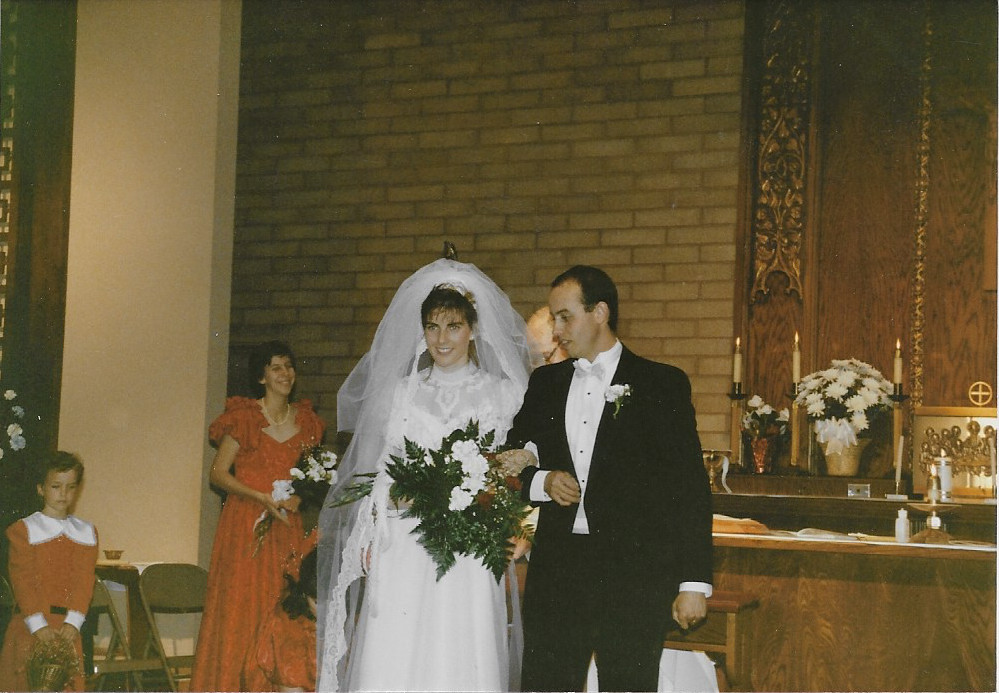 Mike and Lynne Cimorelli wedding picture