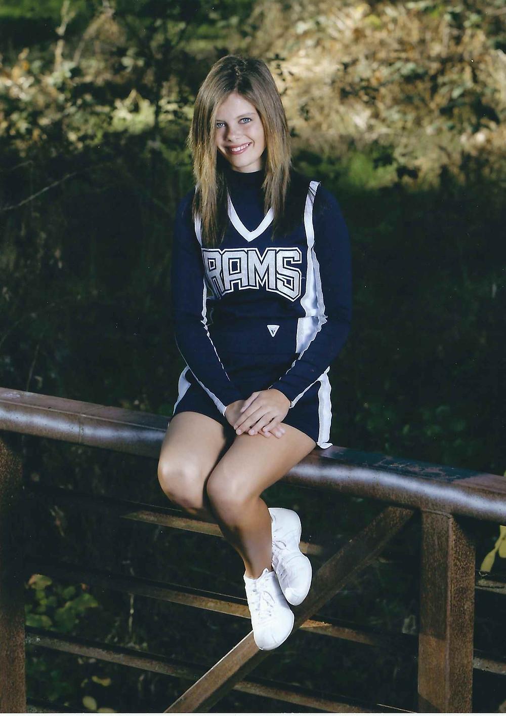 Maria cheerleader