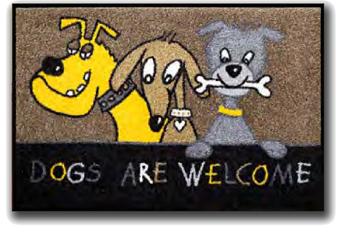 Dogs are Welcome