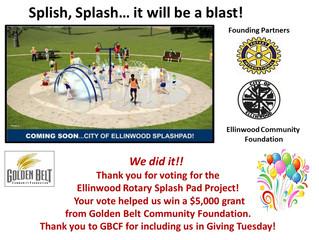 Splash Pad GBCF Winners!!