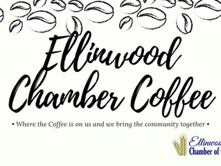 Ellinwood Chamber Coffee Oct. 18th