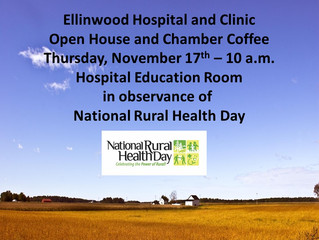 Ellinwood Hospital & Clinic Host Open House and Chamber Coffee Thursday