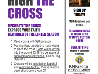 Lift High the Cross - Knights of Columbus Charity