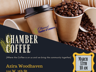 Ellinwood Chamber Coffee hosted by Azira Health Woodhaven March 13th