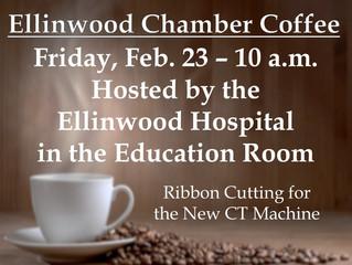 Hospital Chamber Coffee Friday, Feb. 23
