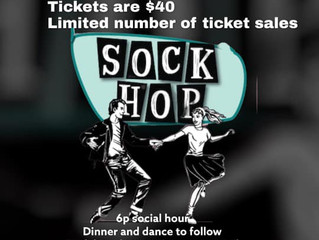 Saint Joseph Parish & School host 'Sock Hop' Saturday, April 24th