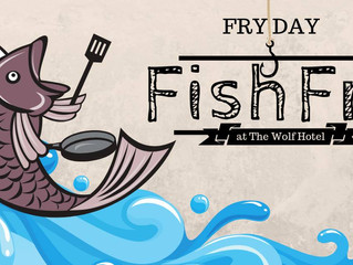 Wolf Hotel will host a Fish Fry April 5th