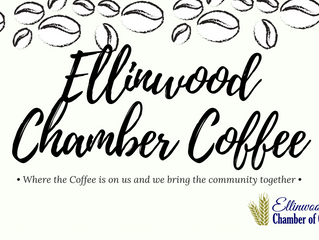 Ellinwood Chamber Coffee Hosted by Angels Care HomeHealth Aug. 30th