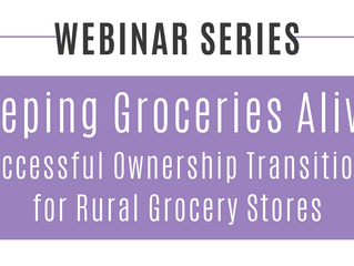 Kansas State University - Keeping Groceries Alive Webinars & Workshops
