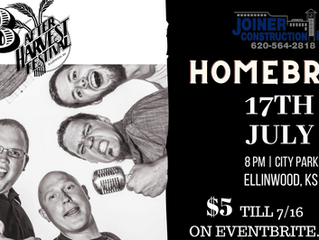 AHF Grandstand Stage Sponsor, Joiner Construction Inc. presents Homebrew at the 48th AHF July 17