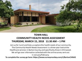 Ellinwood Town Meeting - Community Health Needs Assessment