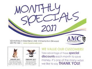 Animal Medical Center Specials