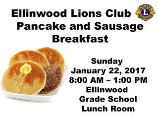 Pancake and Sausage Breakfast