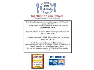 United Way Dine United