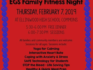 POSTPONED!! Families First School and Community Health and Wellness Night Thursday, February 21st, 2